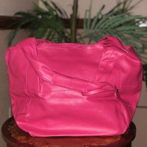 Handbags - Hot pink leather purse